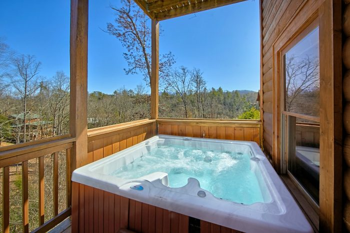 Premium 7 Bedroom Cabin with Hot Tub on deck - Smoky Mountain Lodge