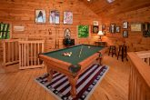 Cabin with pool table and mountain views