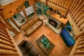 4 bedroom cabin with loft game room