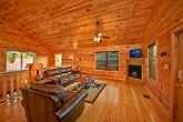 Cabin with sleeper sofa and Flat screen TV