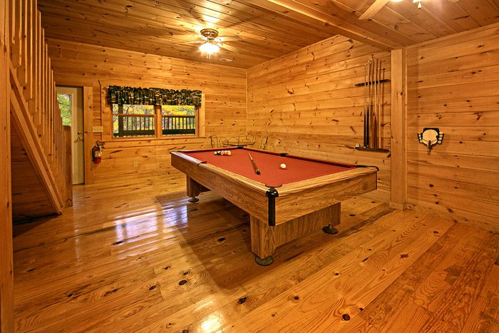 Game Room with Pool Table - Southern Charm