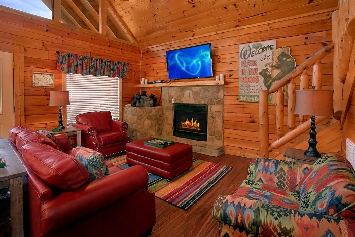 Luxury Cabin with Fireplace and Sleeper Sofa - Southern Comfort