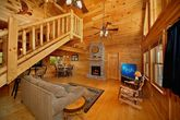 Great Cabin with Spacious Living Room