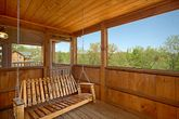 Smoky Mountain Cabin with a Porch Swing