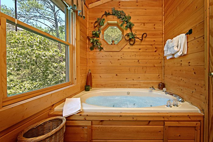 Cabin with Jacuzzi Tub - Spirit of the Valley