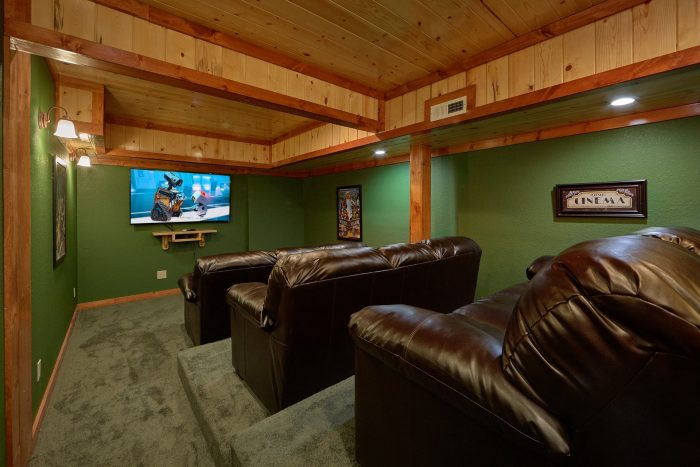 6 Bedroom Cabin with a Theater Room - Splashin' With A View