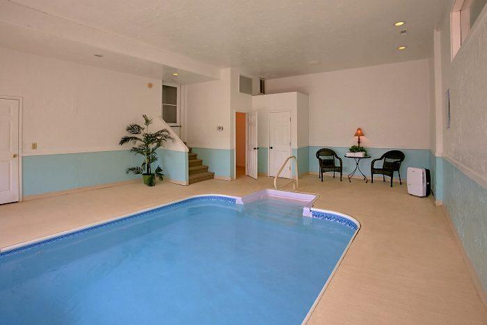 Luxury Cabin with Heated Indoor Swimming Pool - Splish Splash