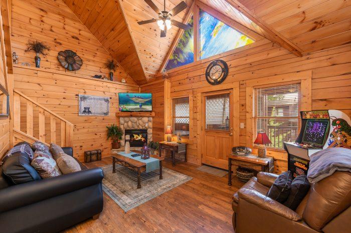 1 bedroom cabin in Golfview Resort - Stairway To Heaven
