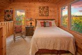 Honeymoon cabin with Queen bed and sleeper sofa