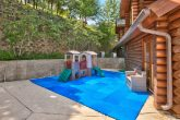 Cabin with resort playground and pool