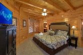 King Suite with Private Bath in 3 Bedroom Cabin