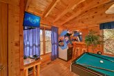 cabin with 2 arcade games