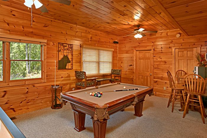 Air Hockey & Pool Table in Game Room - Sugar and Spice