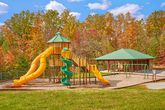 3 bedroom cabin with Playground and Picnic area