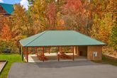 3 bedroom cabin with Picnic Pavillion