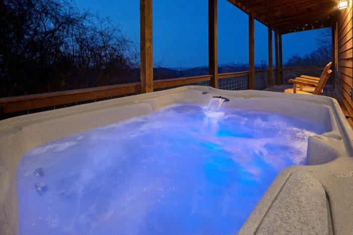 Private Hot Tub and Spectacular Views - Sugar Bear View