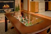 Honeymoon Cabin with Foosball Table