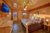 Cabin with a TV in Every Bedroom