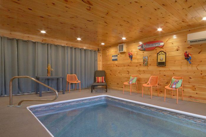 Family Fun 2 Bedroom Cabin Indoor Pool - Swimming Hole