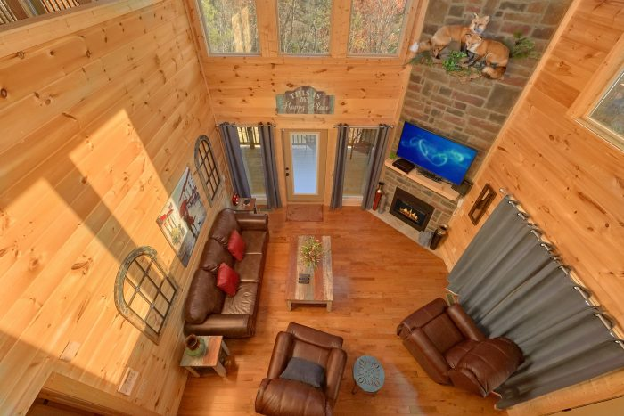Luxury Cabin with Private Decks and Indoor Spa - Swimming Hole