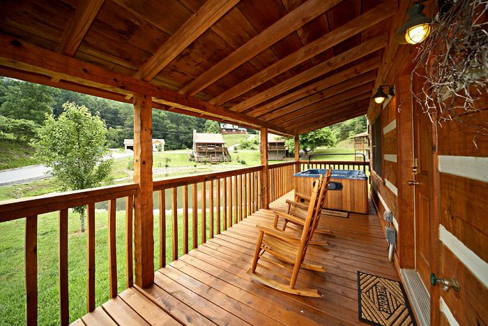 Cabin with Hot Tub - That Away