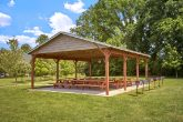 Vacation home rental with picnic area