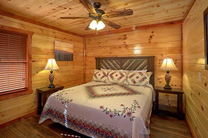 4 Bedroom Premium Cabin Sleep 14 - The Only TenISee