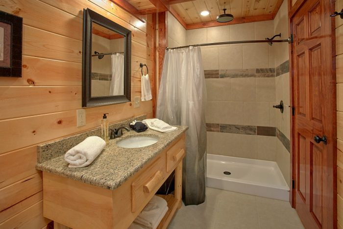 Large Beautiful Bathroom - The Only TenISee
