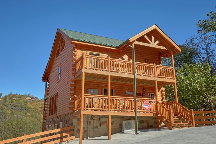 ... 4 Story 4 Bedroom Cabin Sleeps 14   The Only TenISee ...