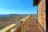 Spectacular Views 1 Bedroom Cabin Sleeps 4