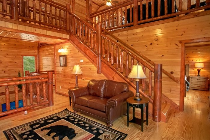 Cabin rental with private pool near gatlinburg the preserve for Smoky mountain cabin rental with private pool