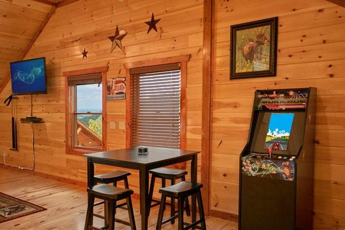 Premium Cabin with Arcade Game - The Preserve