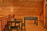 Premium Cabin with Spacious Lofted Game Room