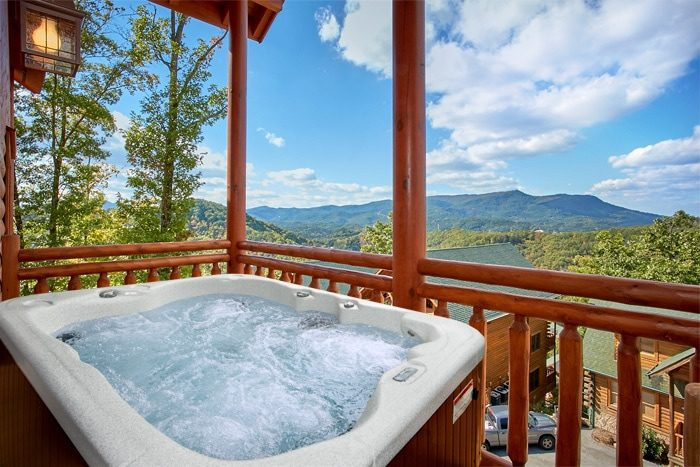Cabin Rental With Private Pool Near Gatlinburg The Preserve