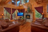 Luxury Cabin with Stone Fireplace and 2 Bedrooms