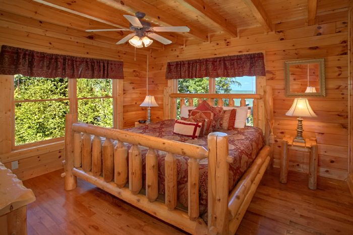 Luxury Cabin with 2 Private King Bedrooms - The Summit