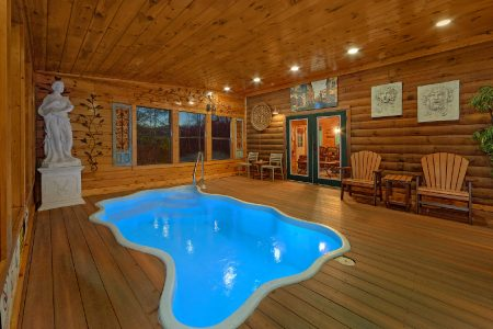 Lucky to be with View: 2 Bedroom Gatlinburg Cabin Rental