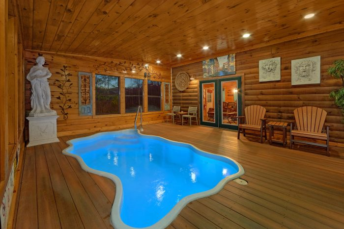 5 star smoky mountain cabin near dollywood private pool for Gatlinburg dollywood cabins