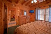 Cabin with King suite and flat screen TV