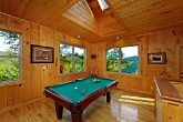 Pool Table in Main Level