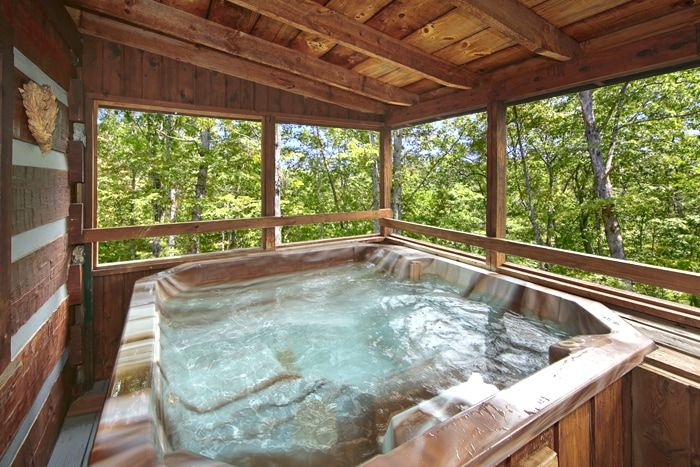 1 Bedroom Smoky Mountain Cabin with a Hot Tub - Top of the Mountain