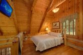 Wears Valley Cabin with a loft