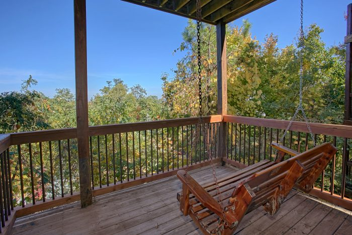 Indoor Pool Cabin 3 Bedroom Sleeps 12 - View Topia Falls