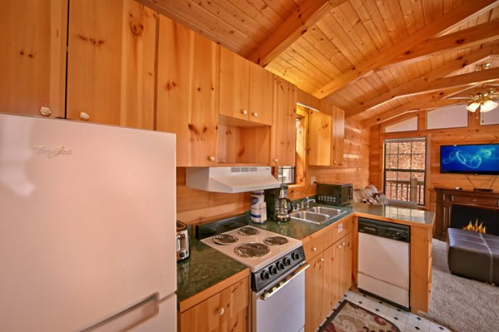 Cabin with dishwasher - Where the Magic Happens