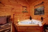 Premium Cabin with Honey Moon Indoor Jacuzzi Tub