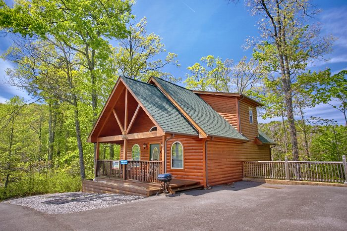 gatlinburg rentals rental dippin cabins cabin bedroom skinny