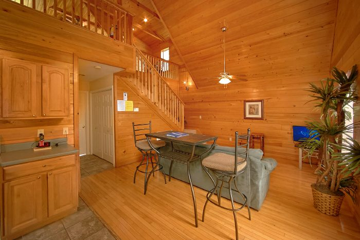 Luxury Cabin with Living Area and Sleeper Sofa - Wild Kingdom