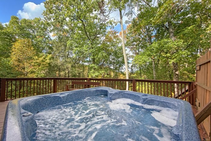 3 Bedroom Cabin with Private Hot Tub - Wolves Den