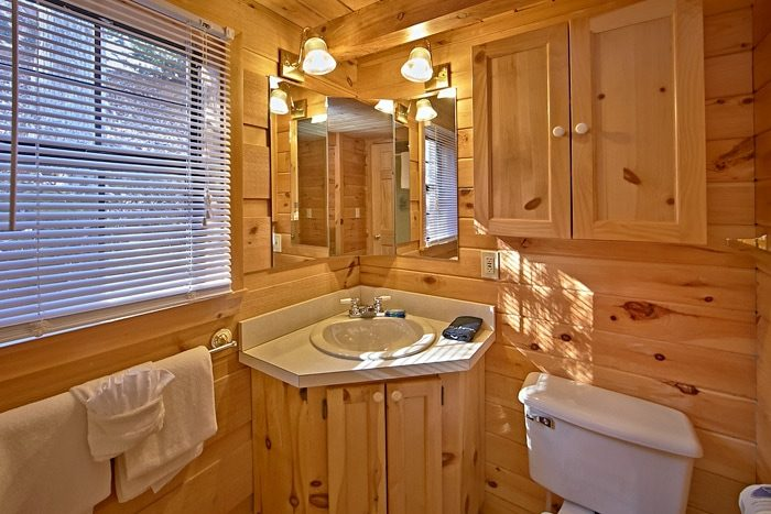 Cabin with spacious bathroom - Wonderland